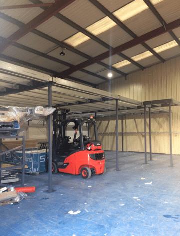 Mezzanine build Barnsley