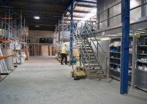 Mezzanine floor at Doncaster