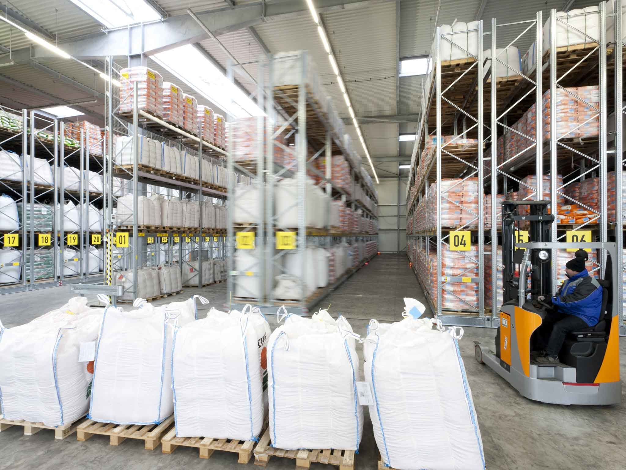 Movo mobile pallet Racking