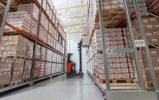 Mobile Movo Pallet Racking
