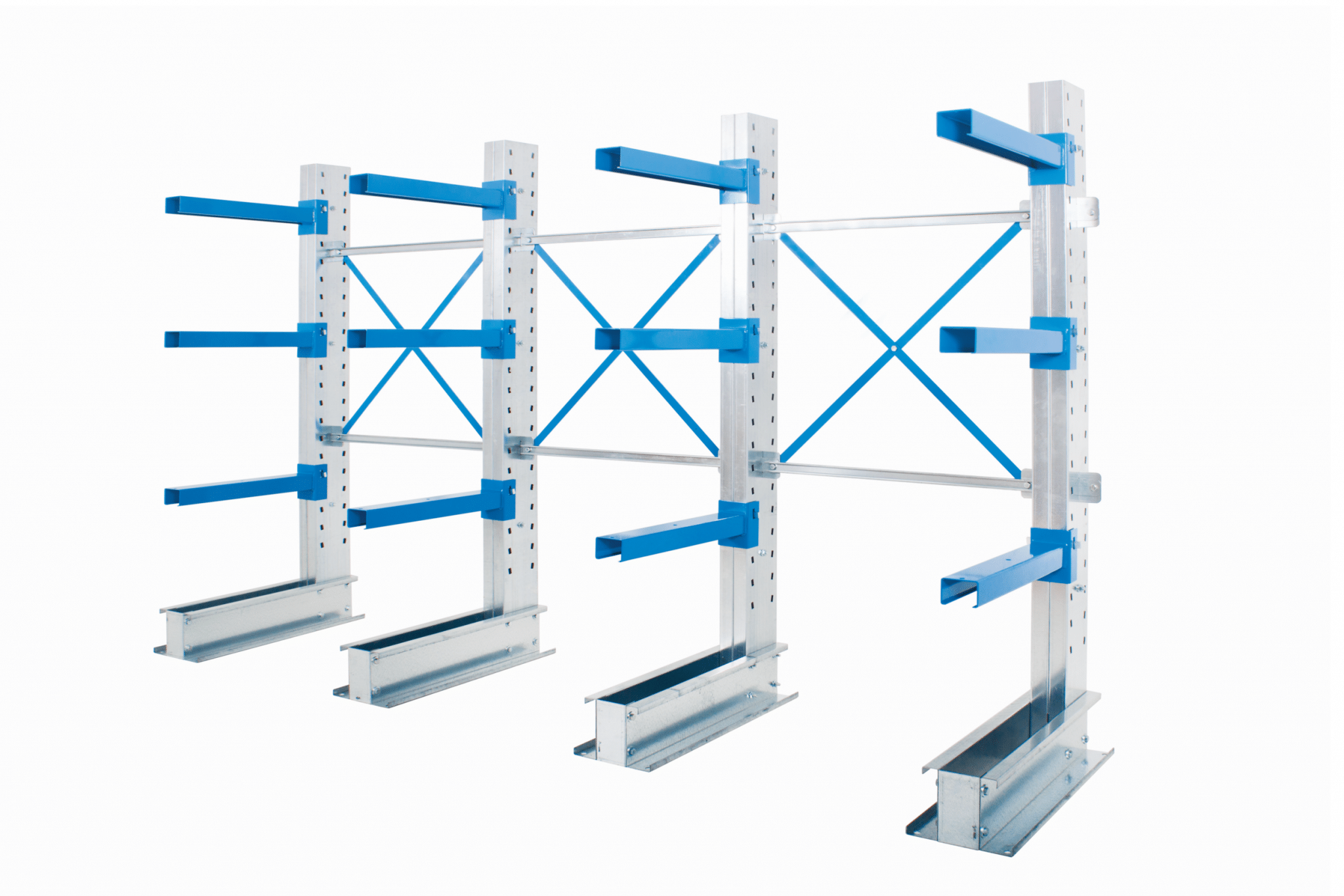 Anco Light Duty Cantilever Racking no props