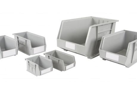 Anco Plastic Storage Bins Recycled
