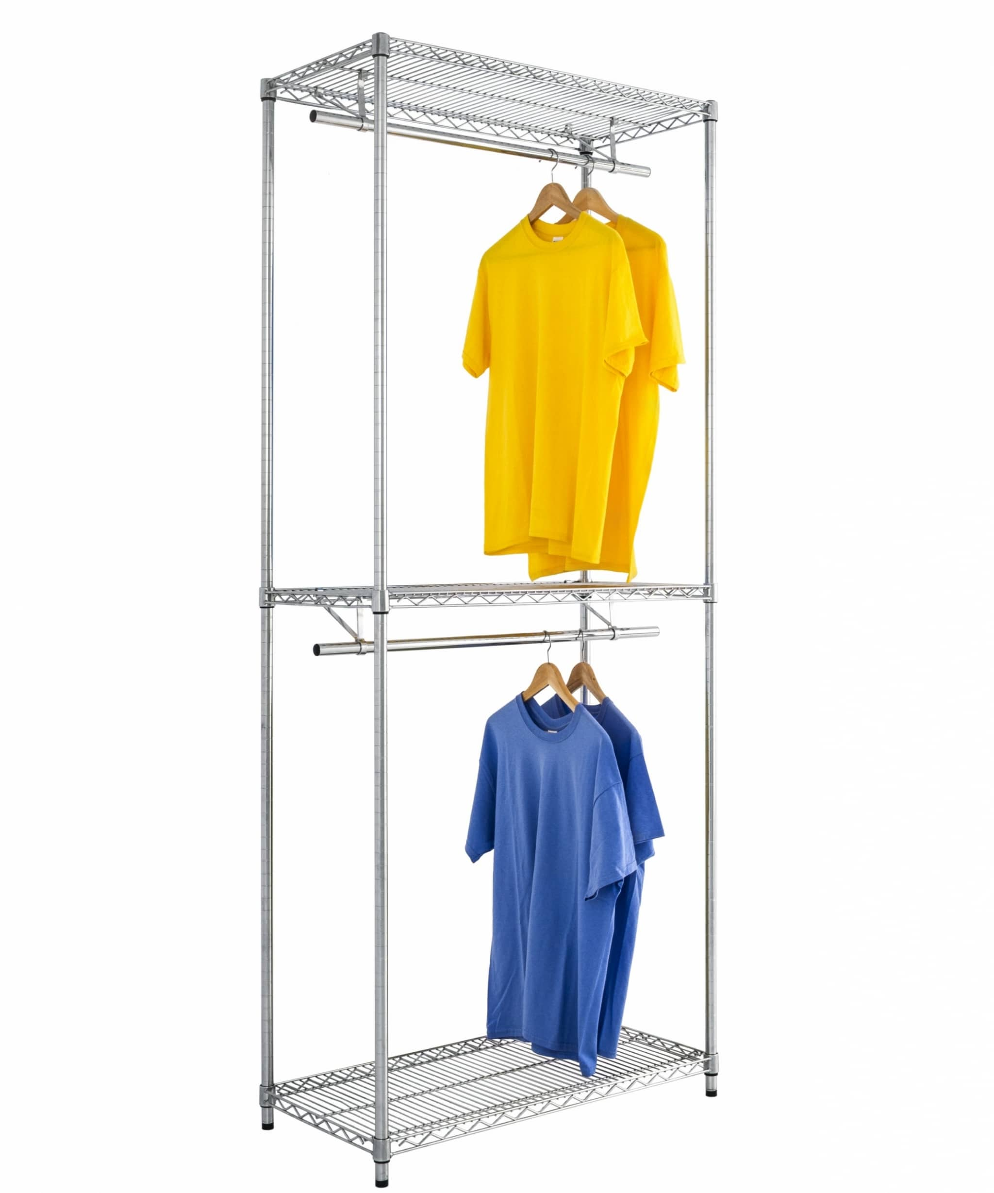Chrome Wire Garment Rack