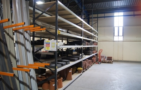 St Leger Homes Shelving and Vertical Racking
