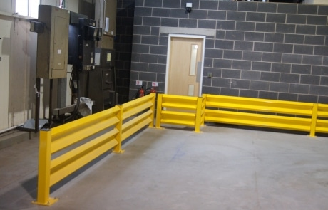Warehouse Barrier Protection