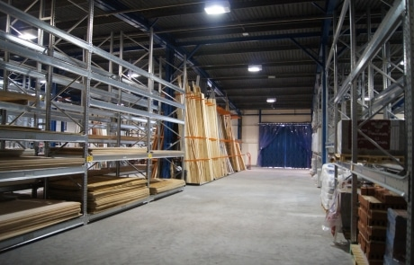 Pallet racking vertical storage racks