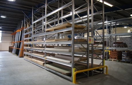 St Leger Homes Racking