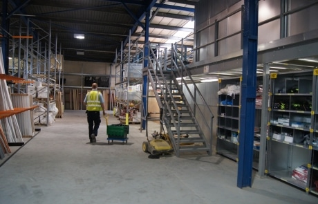 St Leger Homes Mezzanine Floor