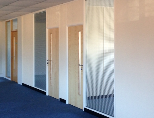 Office Partitioning, Age Uk Doncaster