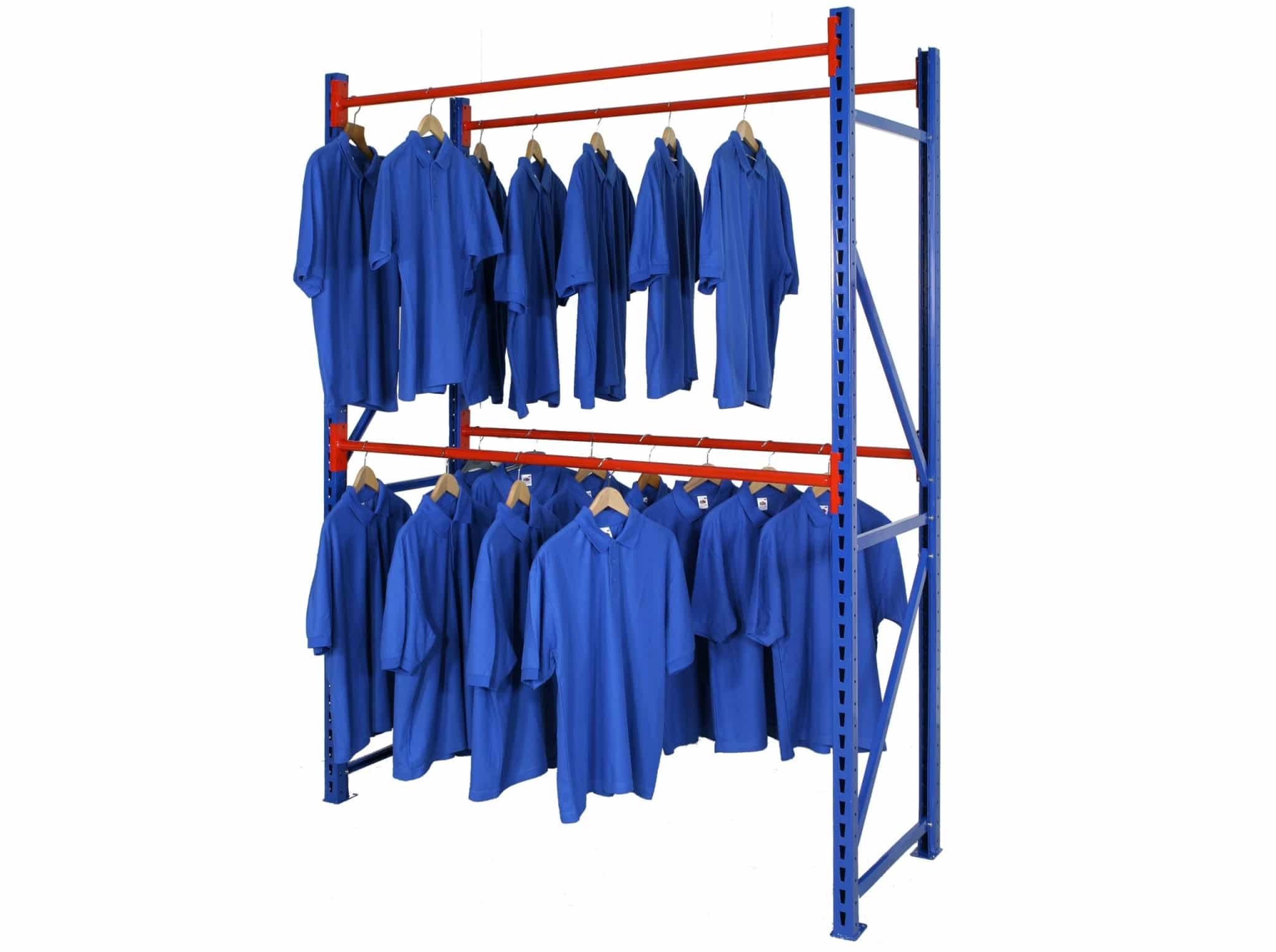Longspan Shelving Garment Rack