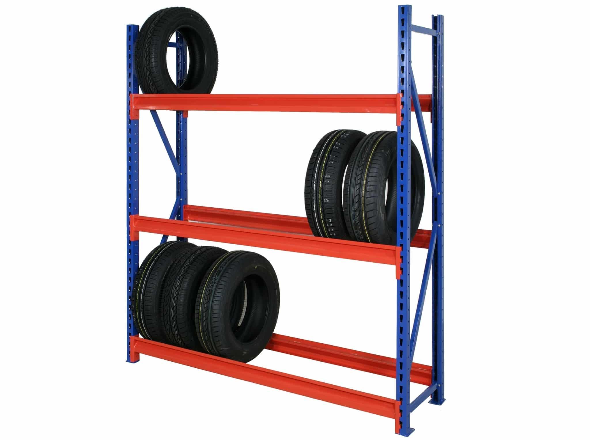 Longspan Shelving Tyre Rack