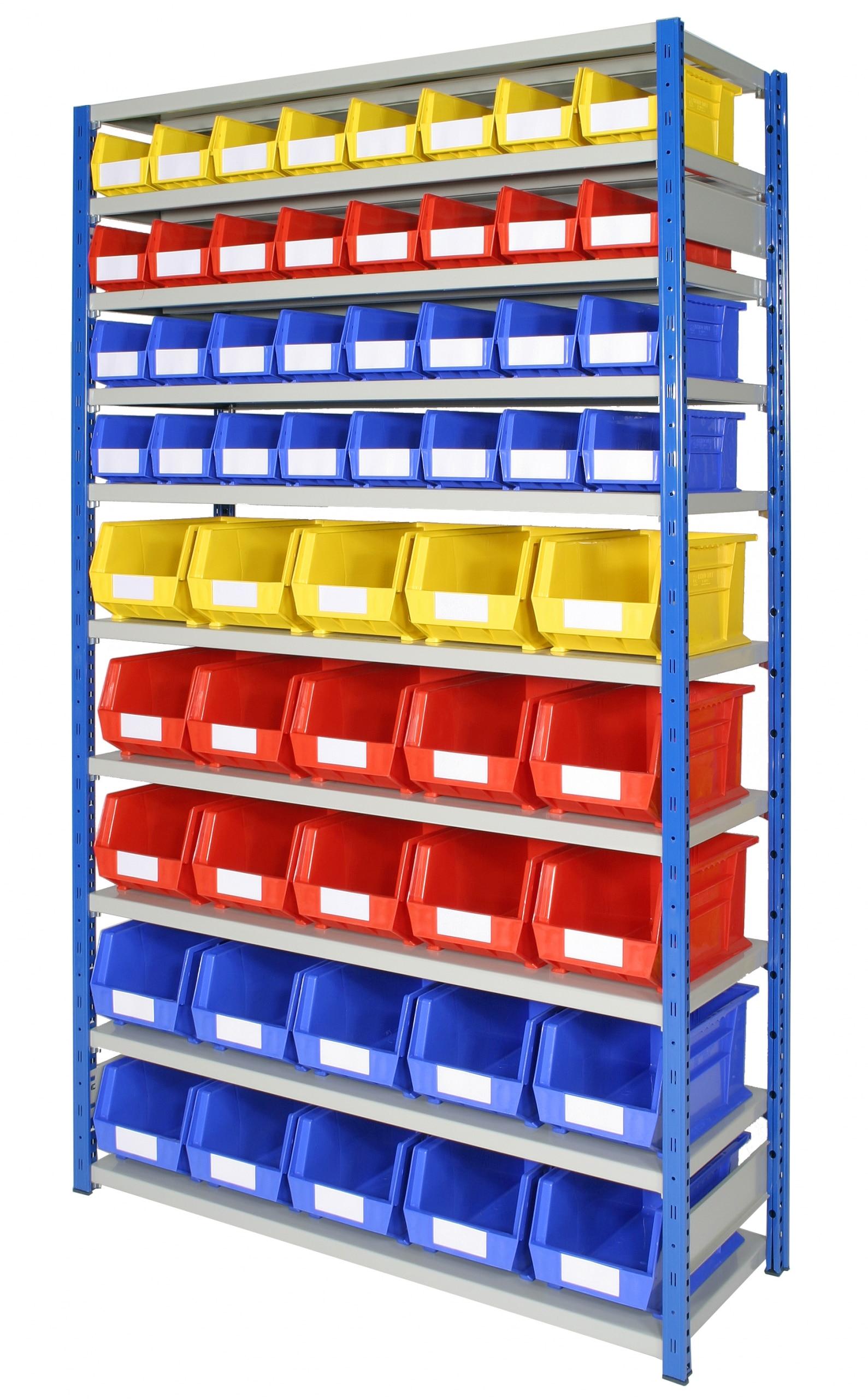 Anco Plastic Storage Bin shelving