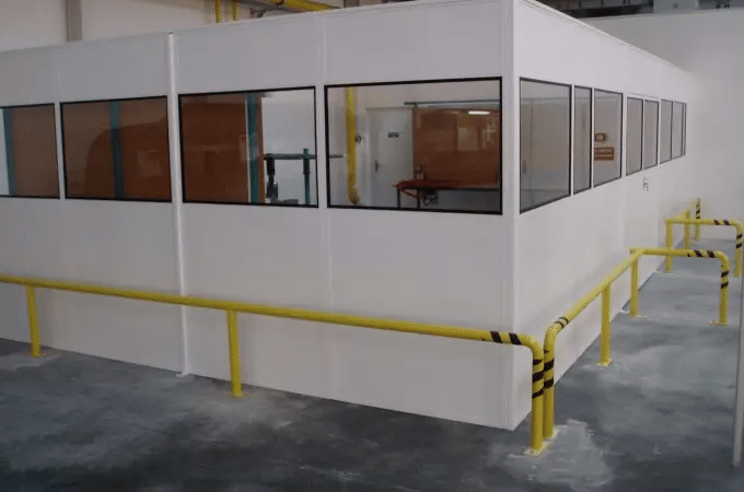 Bastion Heavy Duty Steel partitioning