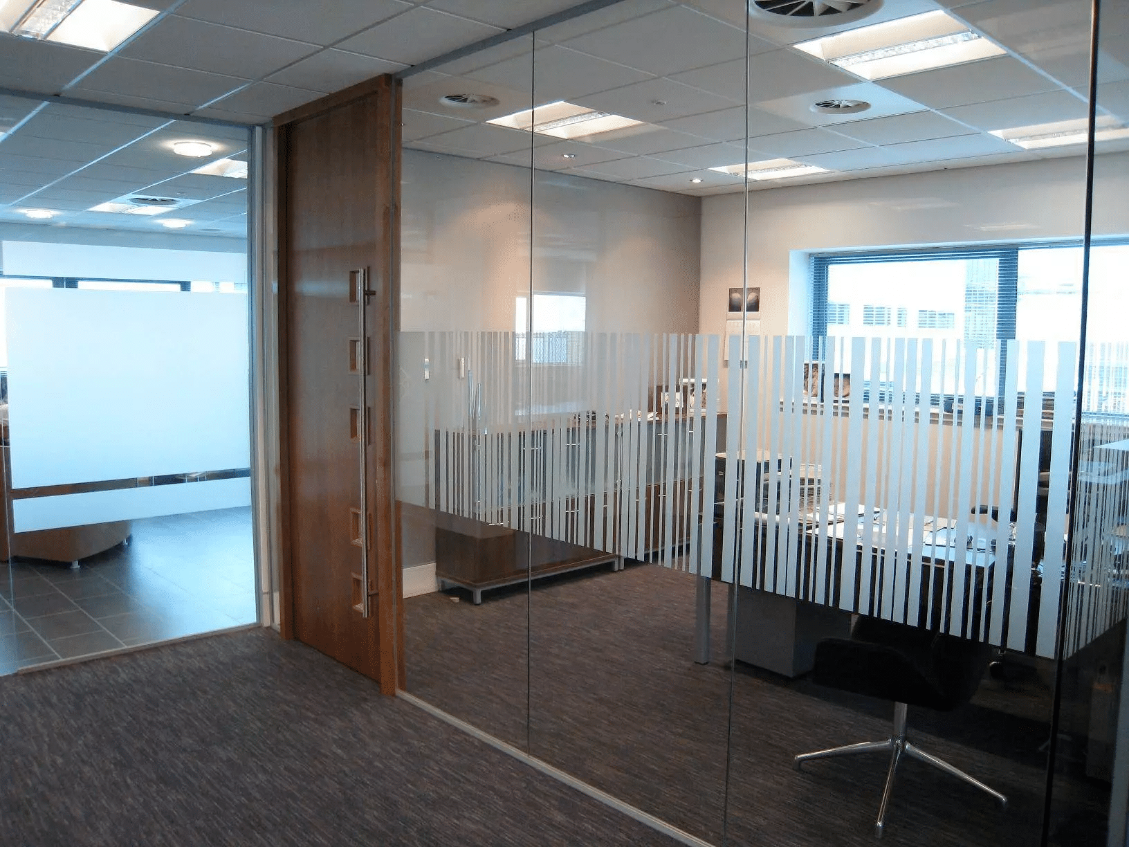 Glass Office Partitioning