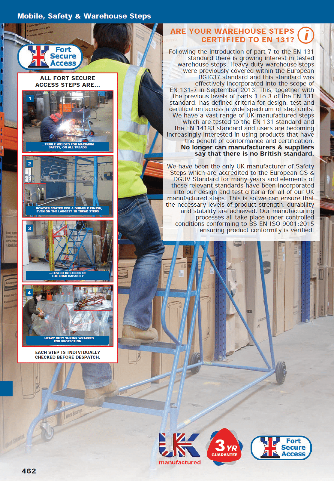 Mobile, Safety & Warehouse Steps