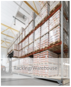 Racking and warehouse