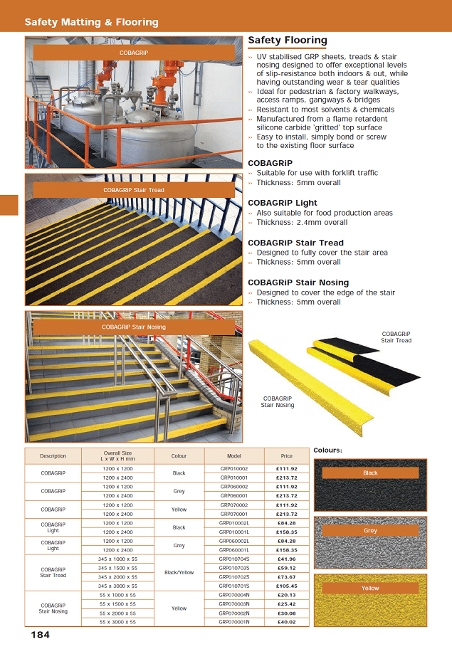 Safety Matting & Flooring