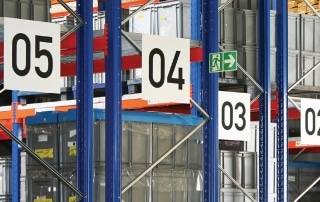 Aisle Markers Rack Labelling