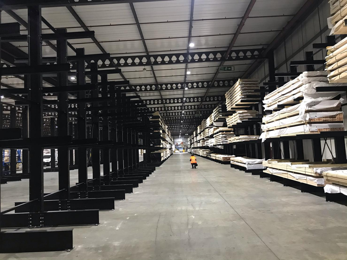 Cantilever Racking Hull 3