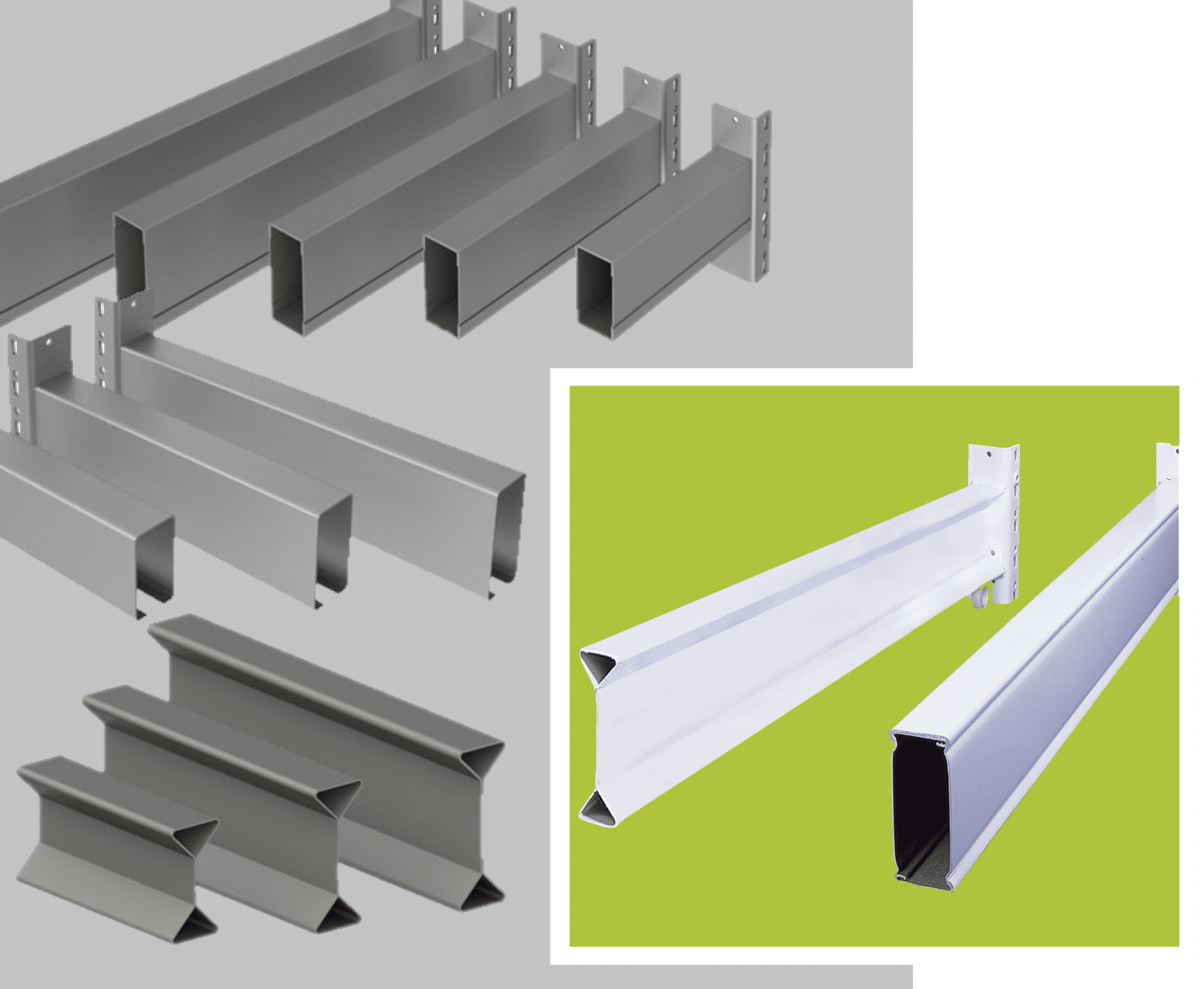 Pallet Racking Beam structures