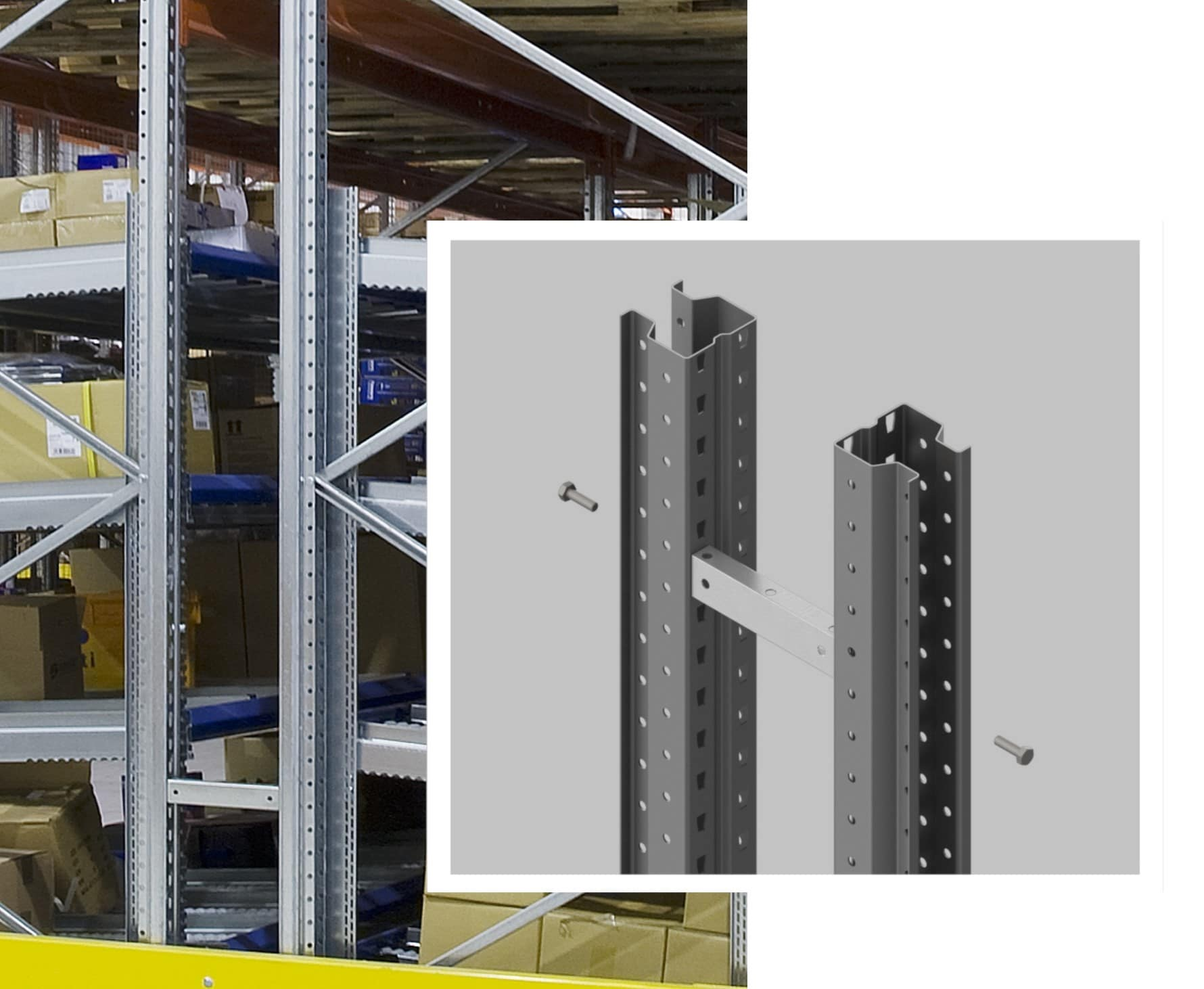 Pallet Racking Row Spacer