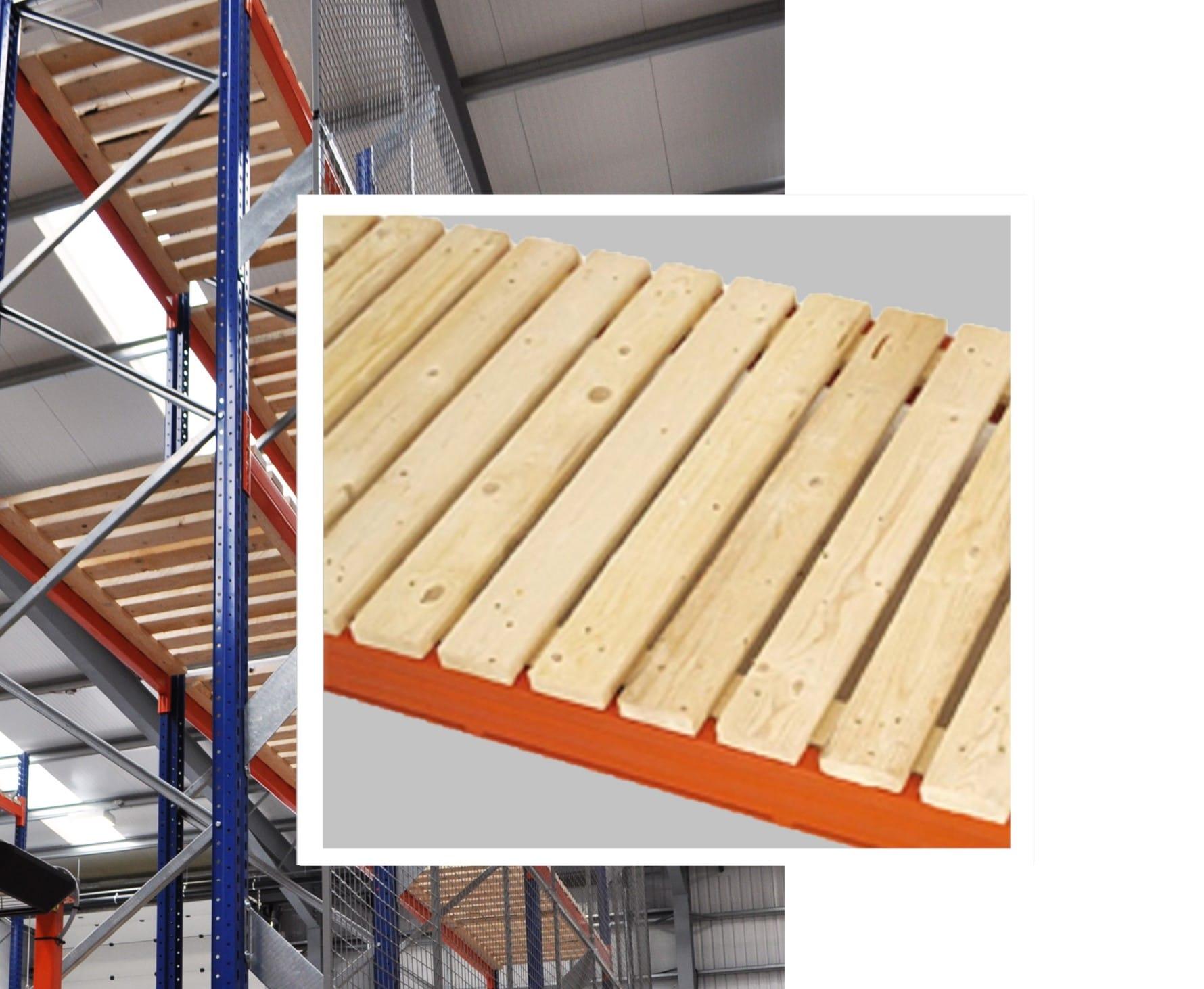 Pallet Racking Timber Decking